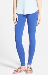 Junior Women's Bp. Essential Leggings Blue Marine