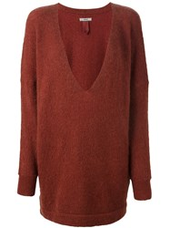 Humanoid 'Kimo' Jumper Red