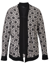 Chesca Daisy Raglan Shrug Cardigan Black