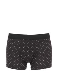 Dolce And Gabbana Polka Dots Cotton Jersey Boxer Briefs