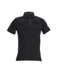 Fred Mello Topwear Polo Shirts Men Steel Grey