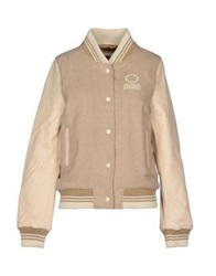 Franklin And Marshall Jackets Ivory