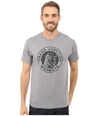 Marmot Grand Junction Short Sleeve Tee Athletic Heather Men's T Shirt Gray