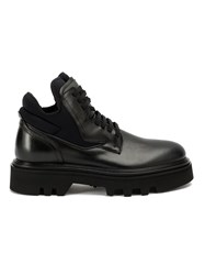 Bruno Bordese Contrast Panel Boots Black