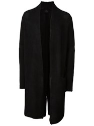 Lost And Found Ria Dunn Long Cardigan Black