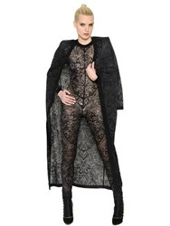 Balmain Arabesque Jacquard Knit Long Cardigan
