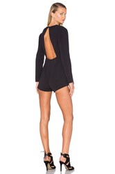 Finders Keepers Round Up Playsuit Black