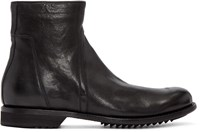 Rick Owens Black Creeper Slim Army Boots