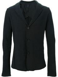 Thom Krom Fitted Raw Edge Blazer Black