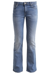 Lee Marion Boot Bootcut Jeans Blue Sign Light Blue