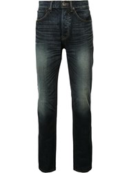 321 Faded Tapered Jeans Blue