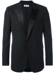 Saint Laurent 'Iconic Le Smoking 70'S' Blazer Black