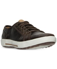Skechers Men's Porter Ressen Casual Sneakers From Finish Line Dark Brown