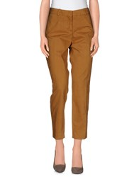 Vintage 55 Trousers Casual Trousers Women Camel