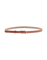 Rochas Belts Brick Red