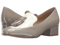 Marc Fisher Keisha Grey Patent Women's Shoes Gray