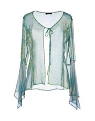 Diana Gallesi Shirts Light Green