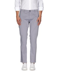 Roberto Pepe Trousers Casual Trousers Men Light Grey