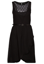 Sublevel Cocktail Dress Party Dress Black