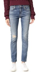Citizens Of Humanity Agnes Mid Rise Slim Straight Jeans Roseland