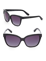 Marc By Marc Jacobs 56Mm Cat's Eye Sunglasses Black Brown