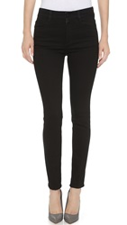 Stella Mccartney The High Waisted Skinny Jeans Black