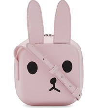 Chocoolate Animal Leather Cross Body Bag Pink