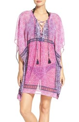 Tommy Bahama Women's Tile Print Cover Up Tunic