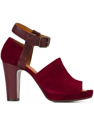 Chie Mihara 'Biscuit' Sandals Red