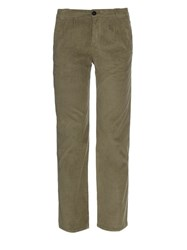 Masscob Straight Leg Micro Corduroy Trousers