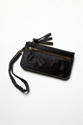 Free People Washed Leather Wallet