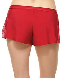 Commando Love And Lust Tap Shorts Ruby Red