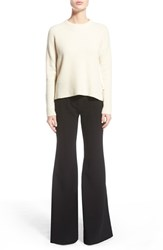 Women's Proenza Schouler Side Tie Wool And Cashmere Sweater