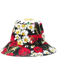 Dolce And Gabbana Printed Bucket Hat Multicolour