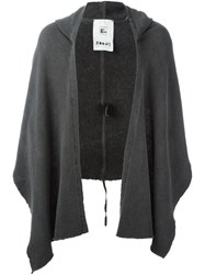 Lost And Found Rooms Hooded Scarf Grey