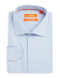 Tallia Orange Cotton Dress Shirt Blue