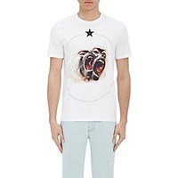 Givenchy Men's Monkey Brothers T Shirt White
