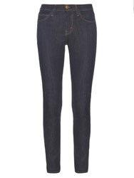 Current Elliott The High Waist Skinny Fit Denim Jeans Navy