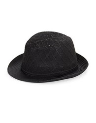 Collection 18 Adjustable Fedora Black