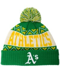 New Era Oakland Athletics Biggest Christmas Knit Hat