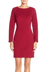 Women's Tahari Ponte Knit Sheath Dress
