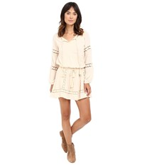 Rip Curl Indian Road Dress Natural Women's Dress Beige