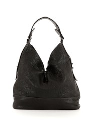 Mint Velvet Charcoal Nyla Leather Shopper