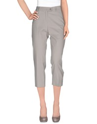 Caractere Trousers Casual Trousers Women Light Grey