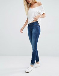 Lee Scarlett Skinny Jeans Night Sky Blue