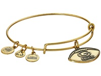 Alex And Ani Nfl Green Bay Packers Football Bangle Rafaelian Gold Charms Bracelet