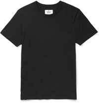 Reigning Champ Ring Spun Cotton Jersey T Shirt Black