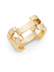 Saks Fifth Avenue Chunky Openwork Bracelet Gold