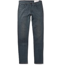 Rag And Bone Richmond Slim Fit Stretch Denim Jeans Blue