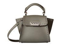 Zac Posen Eartha Iconic Top Handle Mini Shade Top Handle Handbags Gray